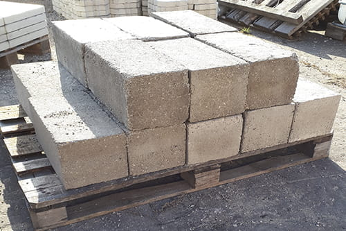 блоки фундаментные 200х200х400
