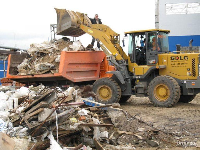 вывоз мусора в Лихославле