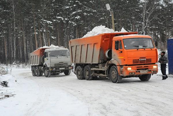 Вывоз снега в Лихославле