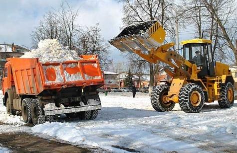 уборка снега и вывоз мусора в Лихославле
