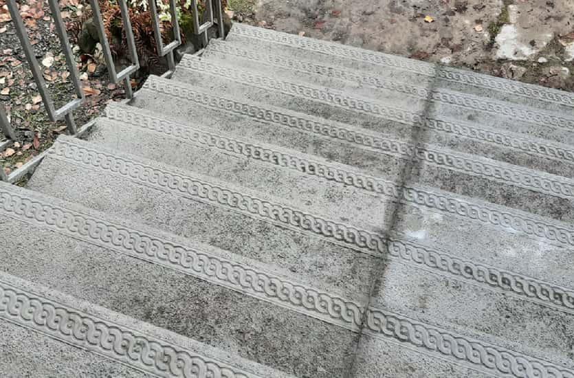 Восстановление лестницы